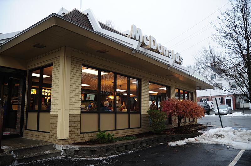 McDonalds Andover Jay Leno