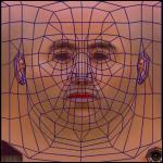 Texturing a face